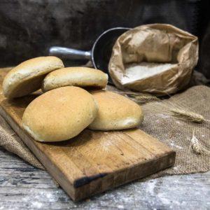 Pane arabo con avena