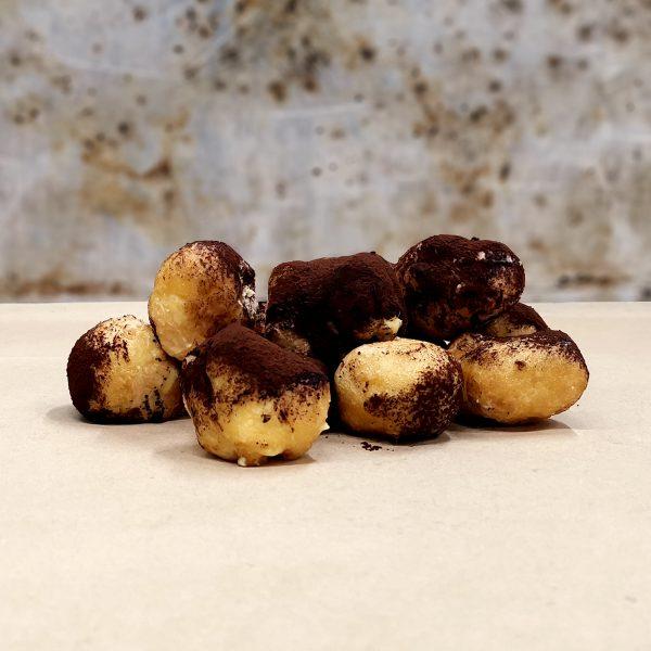 Castagnole fritte ripiene alla crema di mascarpone